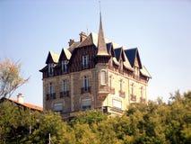 Biarritz Building. The beauty of Biarritz is aesthetically pleasing Stock Image