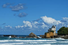 The Biarritz castle Royalty Free Stock Photos
