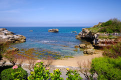 Biarritz coat Royalty Free Stock Images
