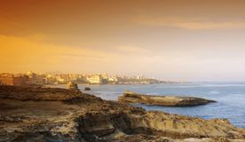 Biarritz coat Royalty Free Stock Photo