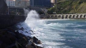 Biarritz, Espagne Photo libre de droits