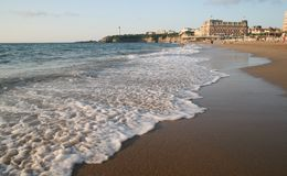 biarritz France Fotografia Royalty Free