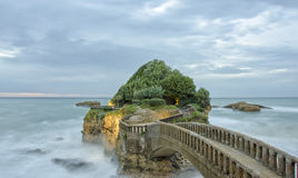 Biarritz in France Stock Image