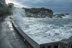 Biarritz in France Royalty Free Stock Image