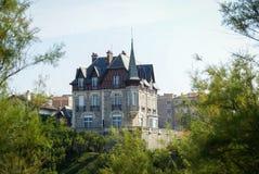 biarritz france Royaltyfria Bilder