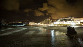 Biarritz france stock video
