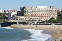 Biarritz. France stock photo