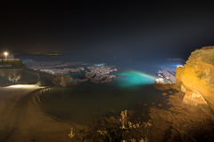 Biarritz in France at night Stock Photos