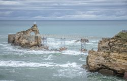 Biarritz, France Royalty Free Stock Photos