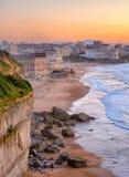 Biarritz, Francia imagen de archivo