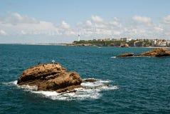 Biarritz, Frankrijk Stock Fotografie