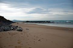 Biarritz, in het gebied van Aquitaine van Frankrijk stock foto's
