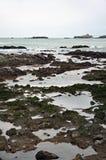 Biarritz, in het gebied van Aquitaine van Frankrijk royalty-vrije stock afbeelding
