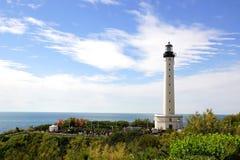 Biarritz Lighthouse. Stock Photo
