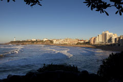 Biarritz, Pirenees Atlantiques Stock Photography