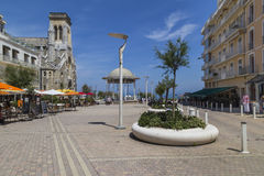 Biarritz Place Sainte Eugénie Royalty Free Stock Photography