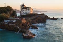 Biarritz Plage de Port Vieux Lizenzfreie Stockfotografie