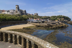 Biarritz Port Vieux Stock Photos
