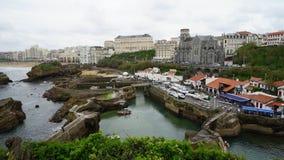 Biarritz, Spagna Fotografie Stock