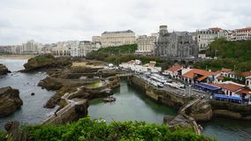 Biarritz, Spanien Stockfotos