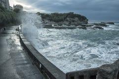 Biarritz w Francja Obraz Royalty Free