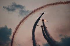 BIAS 2018 - toont de Internationale Lucht van Boekarest Stock Afbeelding