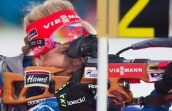 Biathlon Östersund. World Cup Biathlon in Östersund Stock Photos