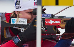 Biathlon Östersund. World Cup Biathlon in Östersund Stock Images