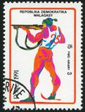 biathlon royalty-vrije stock afbeelding