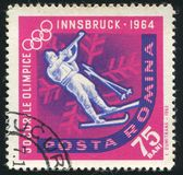 biathlon royalty-vrije stock foto's
