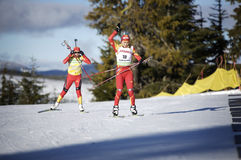 Biathlon Stock Photography