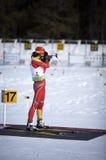 Biathlon Lizenzfreie Stockfotos