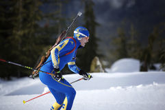Biathlon stock foto