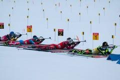 Biathlon Zdjęcia Royalty Free