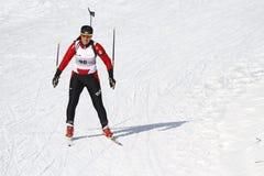 Biathlon Stockfoto