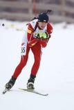 Biathlon Foto de archivo