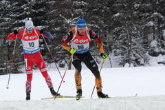 biathlon Fotografia Stock