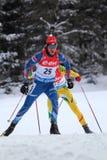 biathlon Fotografia de Stock