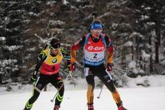 biathlon royalty-vrije stock foto
