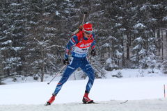 biathlon Obrazy Royalty Free