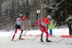 biathlon Immagine Stock