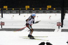 Biathlon  Stock Images