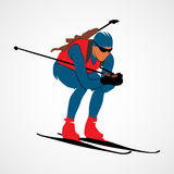 Biathlon Abstract sport Stock Photos