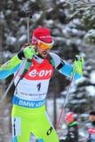 Biathlon - Fak Jakov Lizenzfreie Stockbilder