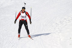 Biathlon Stock Photo