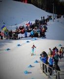 Biathlon puchar świata 2016 obraz royalty free