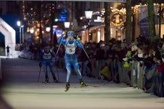 Biathlon Skier stock images