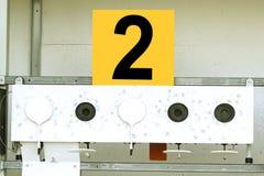 Biathlon . Target sports shooting Royalty Free Stock Photos