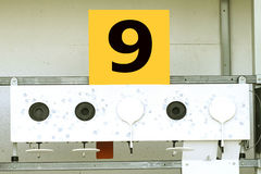 Biathlon . Target sports shooting № 9 Royalty Free Stock Photos