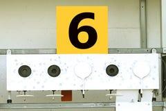 Biathlon . Target sports shooting № 6 Royalty Free Stock Images
